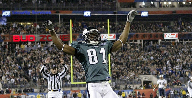 ce1d66f1711 Terrell Owens represents the Eagles in the Hall of Fame program