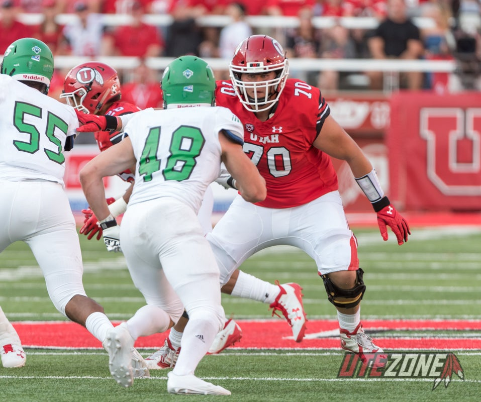 Utah Football Fall Camp Position Battle Preview: Offensive Line