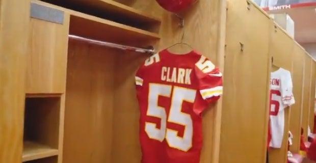 best service 2c228 740c1 Kansas City Chiefs release Frank Clark hype video