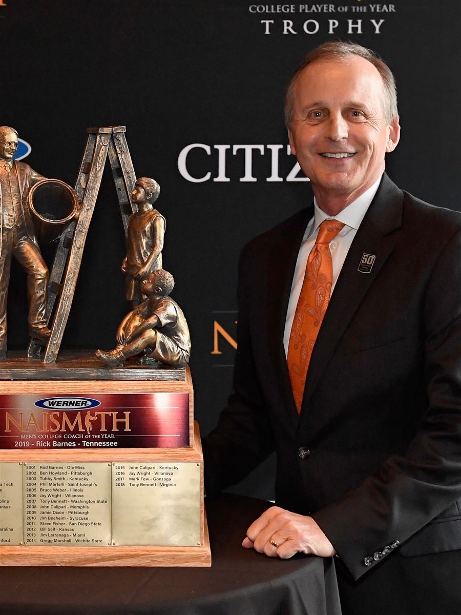 Rick Barnes, Head Coach (BK), Tennessee Volunteers