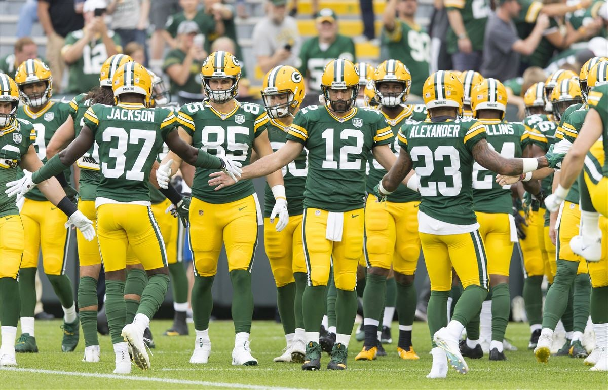 the best attitude 3bdda 1f968 Green Bay Packers uniforms ranked fourth-best in NFL