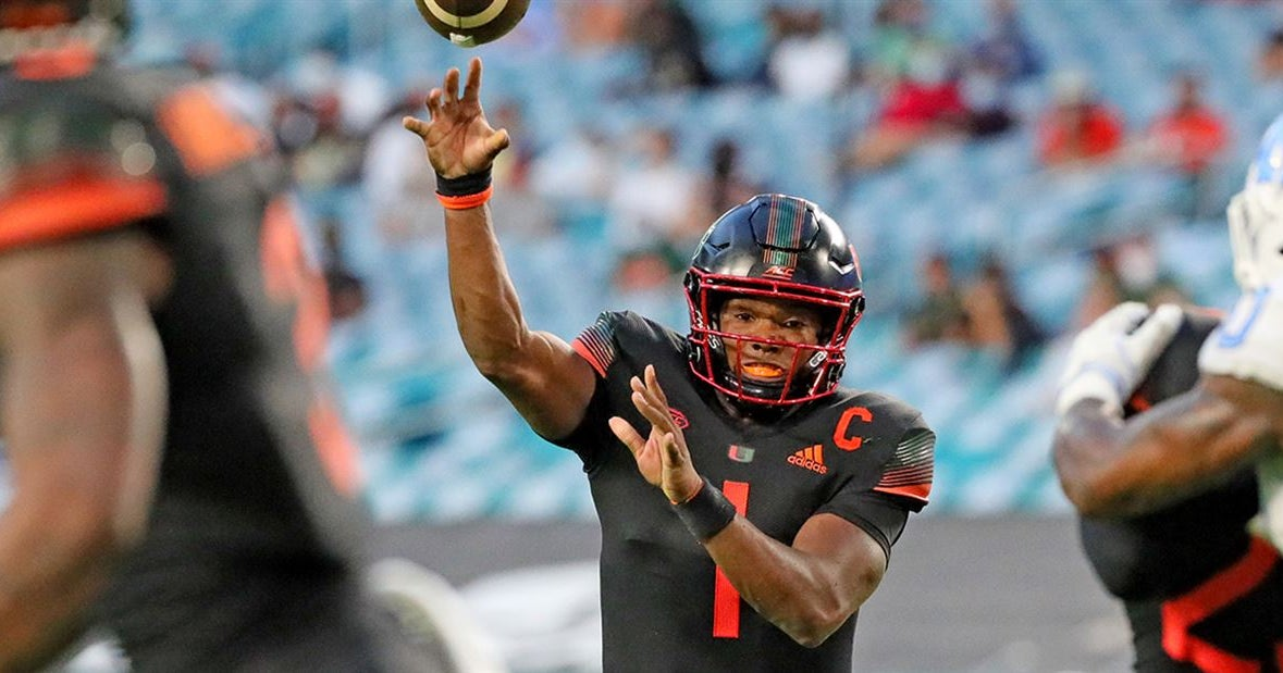 PFF ranks QB D'Eriq King as a Top 50 player in the country in 2020