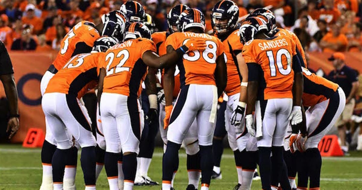 Updated Broncos depth chart after final cuts
