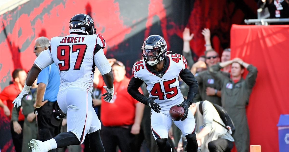 Deion Jones thrilled about Dante Fowler joining Falcons' defense