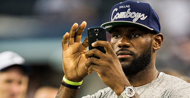 ddae7a67b7e5 LeBron James shouts out retiring Urban Meyer at Ohio State
