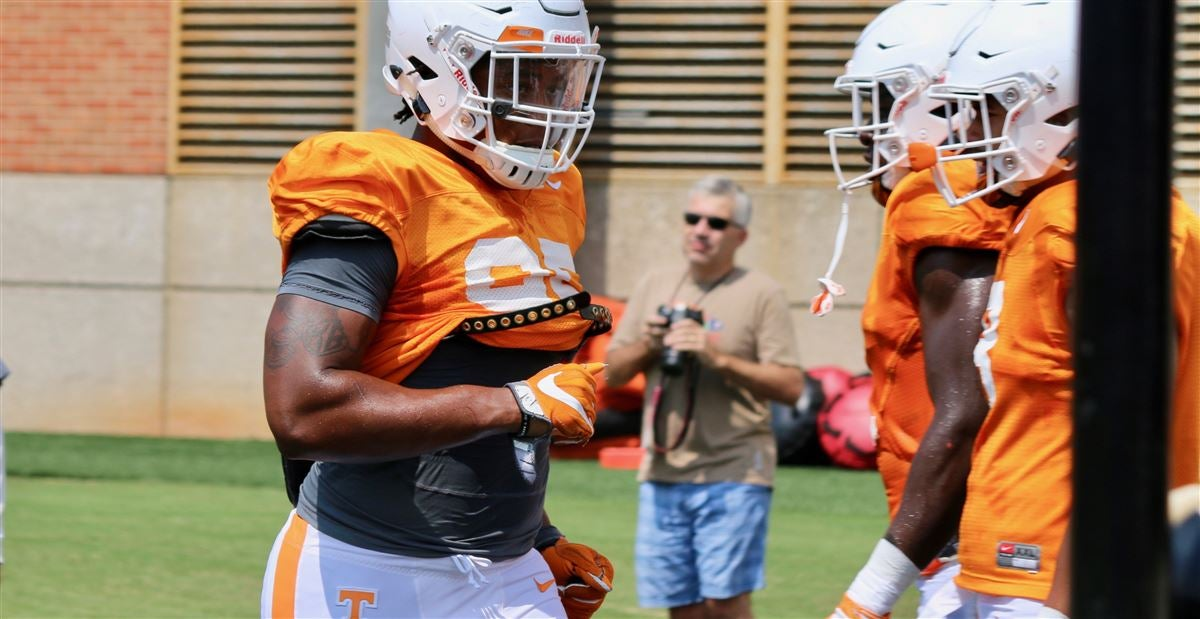 Photos: Some Vols again in new spots Tuesday