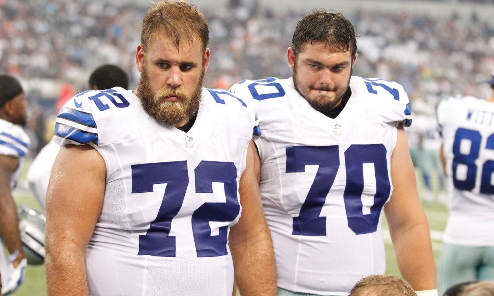 Cowboys on Zack Martin knee: An MRI and a 'positive outlook'