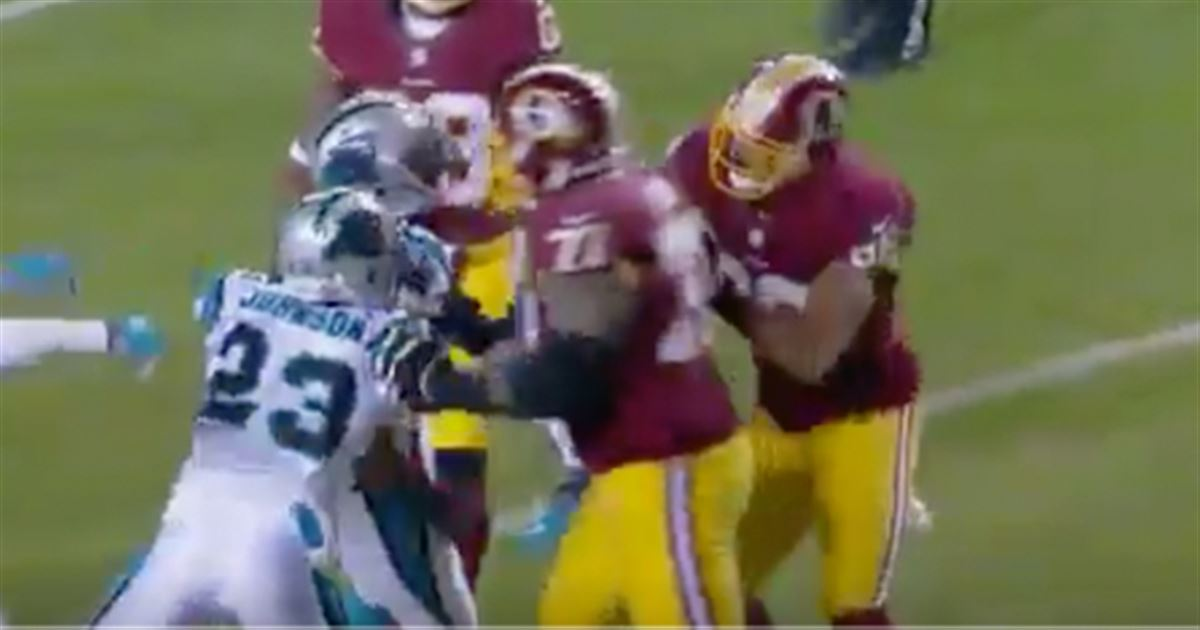 Jordan Reed ejected for throwing a punch