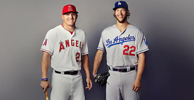 Mike Trout & Clayton Kershaw