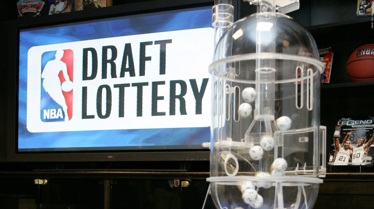 Final NBA Draft Lottery odds, order for playoff teams