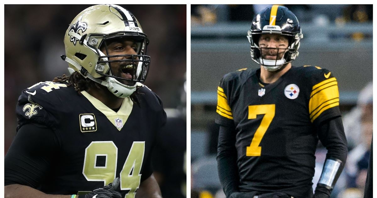 lowest price 1f2a7 64087 Cam Jordan takes unnecessary shots at Ben Roethlisberger