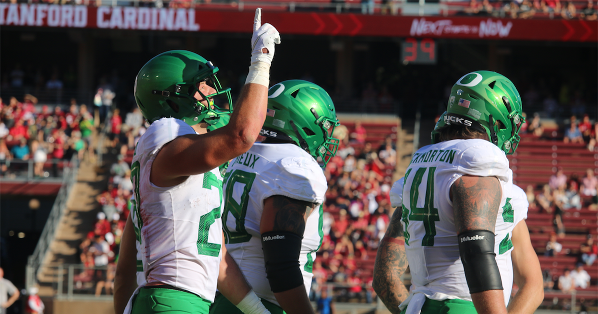 Top 10 Plays from Oregon's win over Stanford