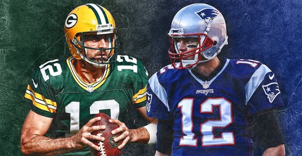 Aaron Rodgers vs  Tom Brady is NFL version of LeBron vs  Jordan