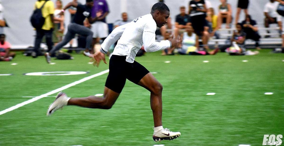 CAMP CLIPS: See new Penn State commit Emery Simmons in action