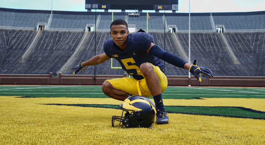 WATCH: Highlights of Michigan's newest commitment
