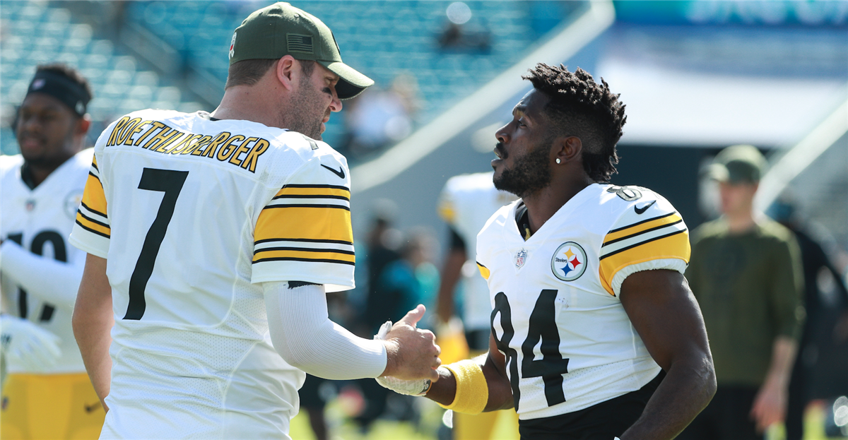 af007029185 Ben Roethlisberger doesn't owe Antonio Brown an apology