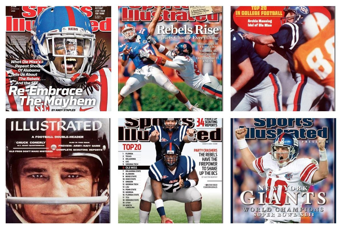 The History Of Ole Miss On Cover Sports Illustrated