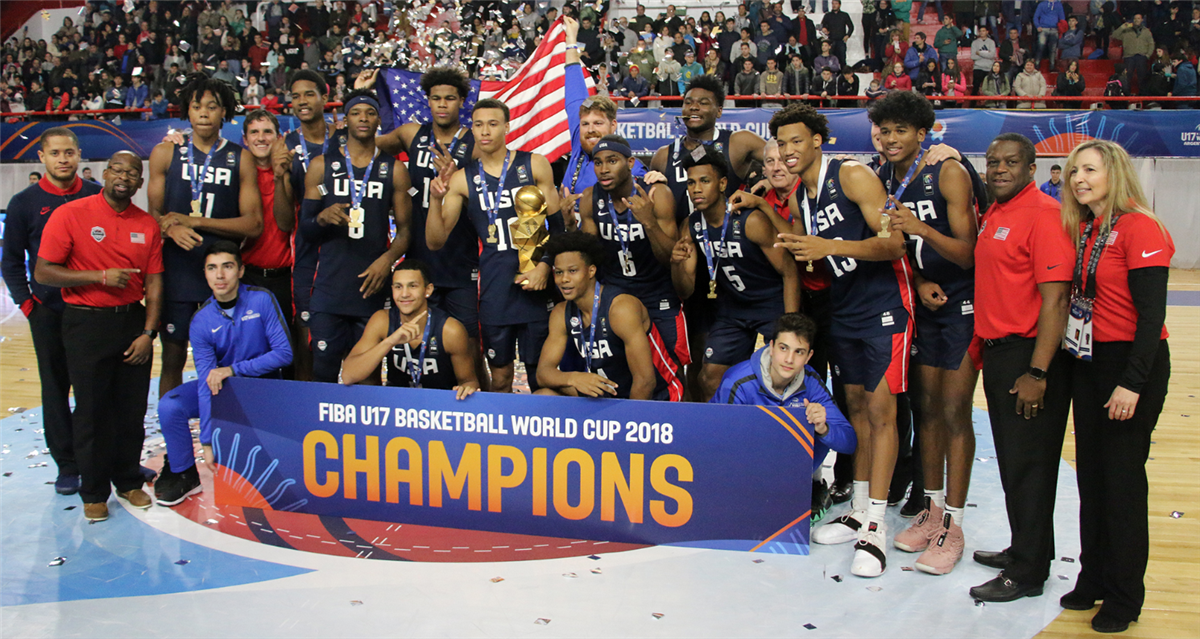 USA captures gold medal at FIBA U17 World Cup in Argentina