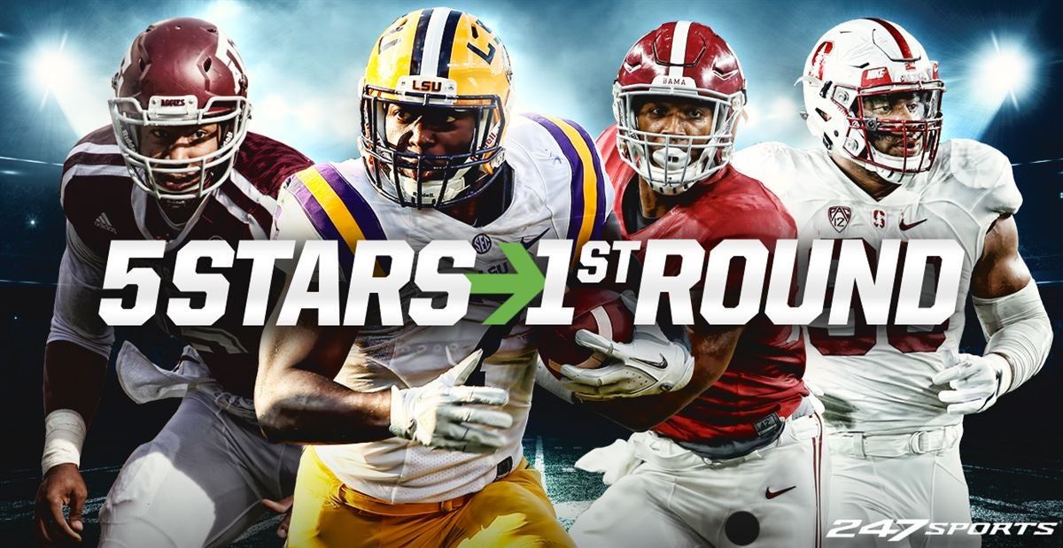 2017 NFL Draft could have most five-stars taken in first round
