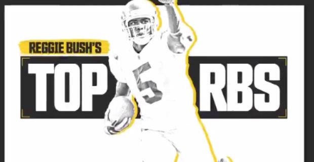 Reggie Bush names top 5 running backs for 2019