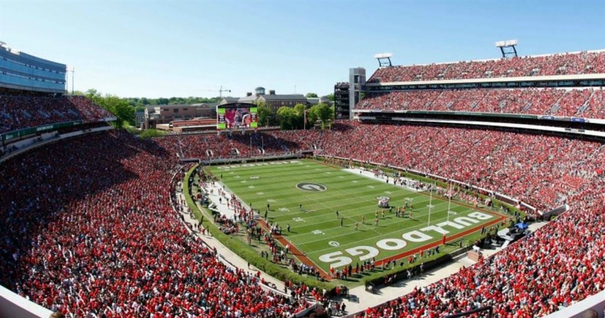 Georgia has college football's most followed Twitter account