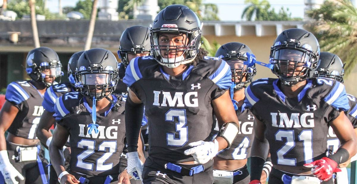 By attending IMG Lejond Cavazos is set up for Ohio State success