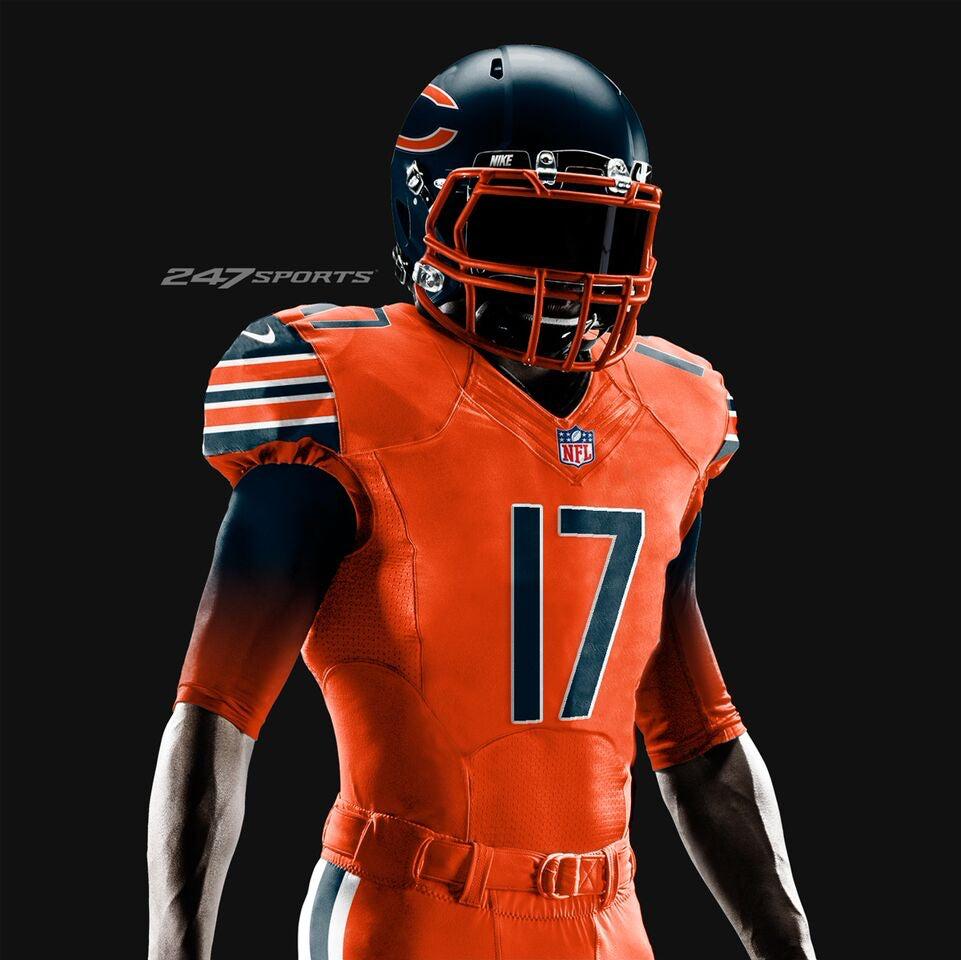 broncos color rush jerseys 2016