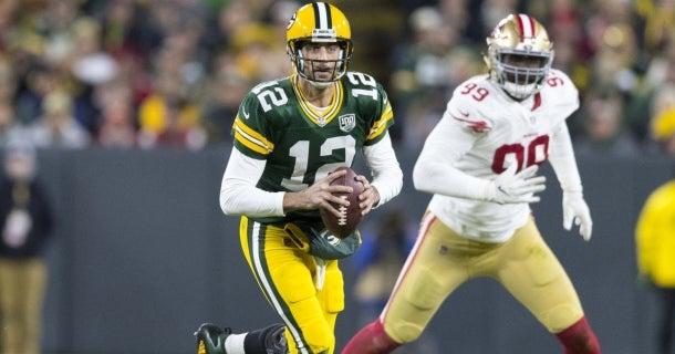 San Francisco 49ers at Green Bay Packers: Highlights