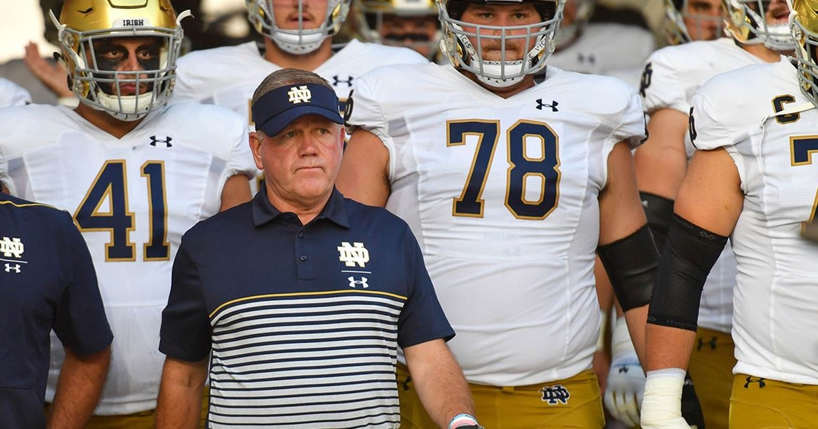 Updates: Brian Kelly's 2pm Sunday teleconference at Notre Dame
