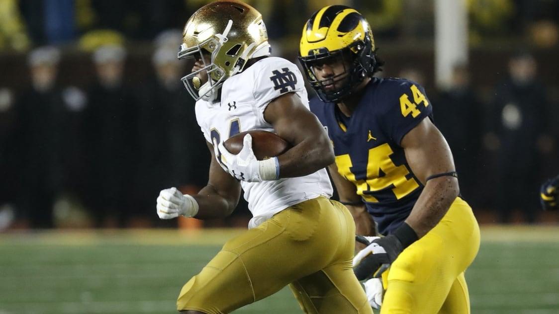 Notre Dame Running Back Has Left The Team