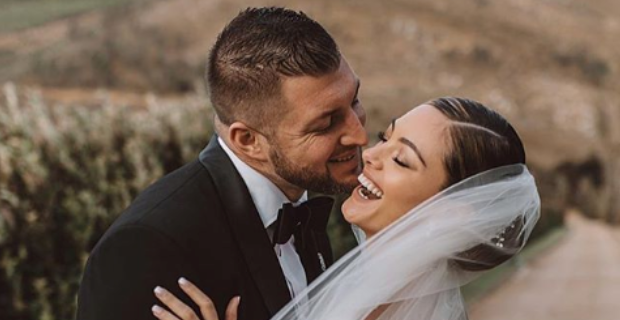 Tim Tebow, Demi-Leigh Nel-Peters share first wedding photos