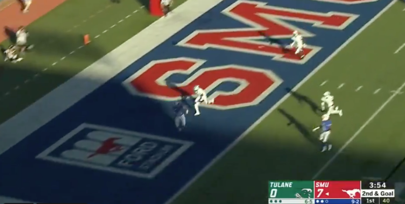 WATCH: Kylen Granson makes one-handed catch for 14-0 lead
