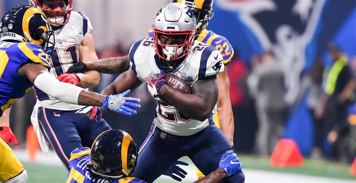 Image result for sony michel super bowl