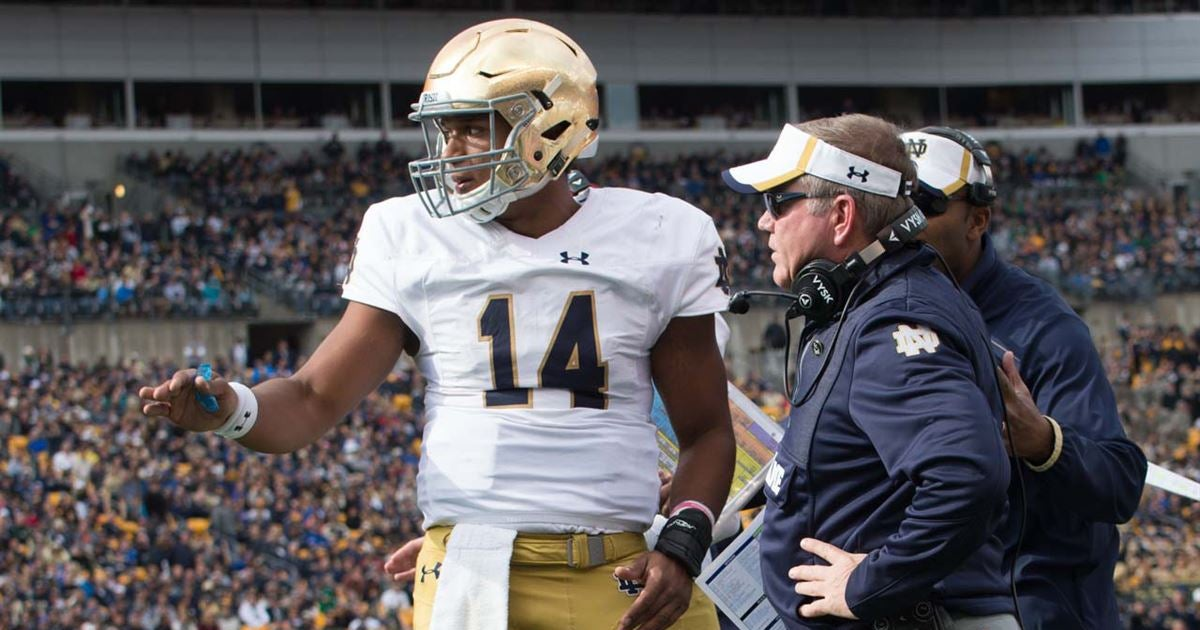 Former Irish QB DeShone Kizer lands on feet with new team