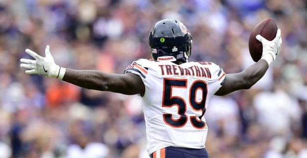 Bears and Broncos roster connections