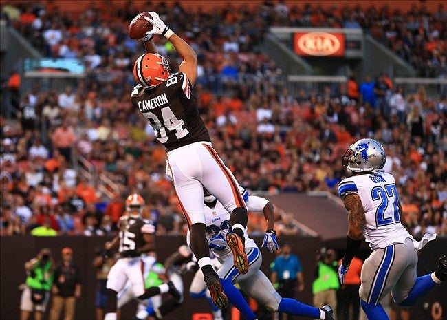 Jordan Cameron - This Day In Cleveland Browns History 8/7