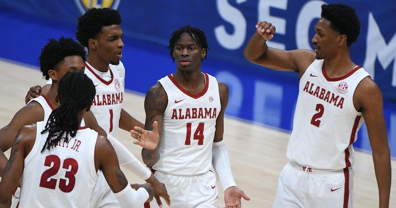 Alabama dominates Mississippi State in SEC Tournament's quarterfinals - 247Sports