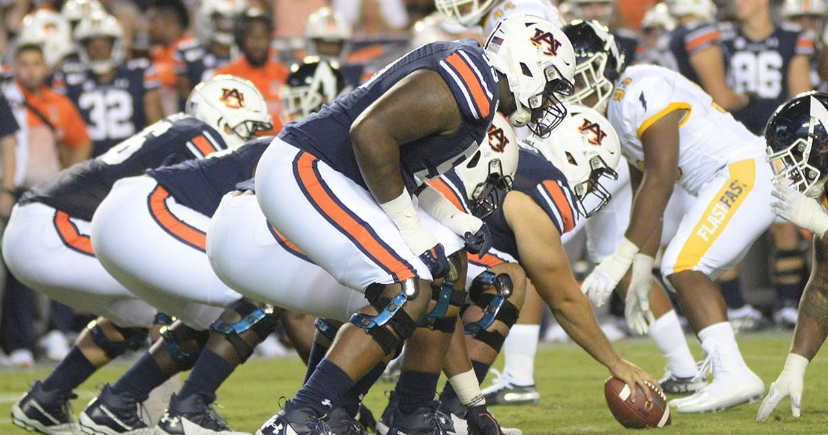 2020 Auburn offensive line camp preview: The contenders