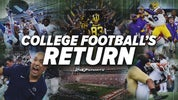 College football return dates