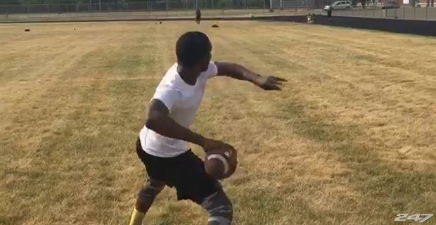 Watch: 2018 QB El Julian Jordan's 82-yard throw