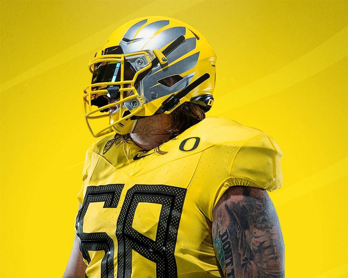 release date 4a83b 340fe Oregon releases 2019 'Nike Vapor Fusion' Uniforms