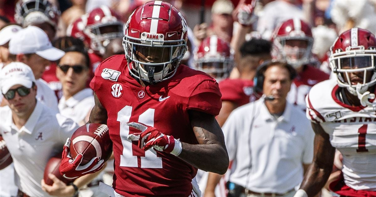 Henry Ruggs Is All-Around Good Alabama Player