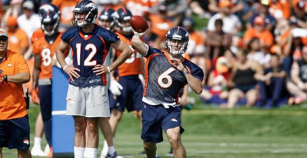 Broncos camp Day 13: Kelly hits Courtland; Heuerman scores again