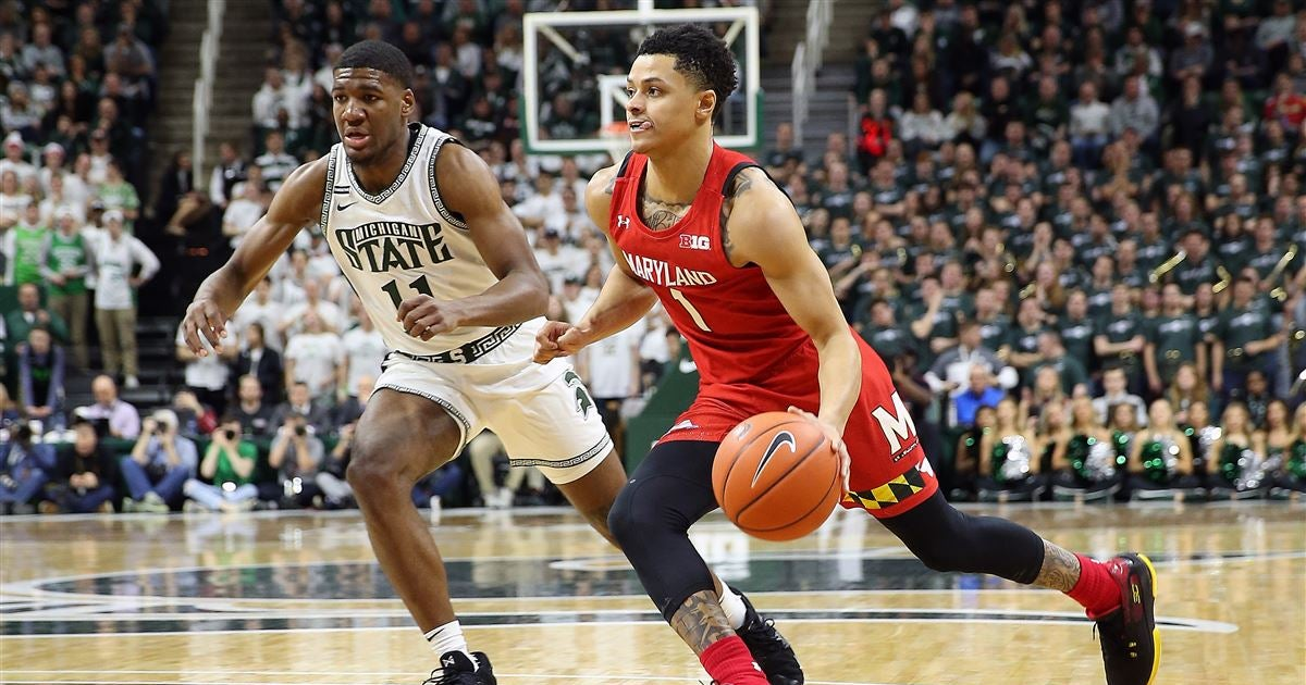 Maryland hits big shots late to sink Michigan State