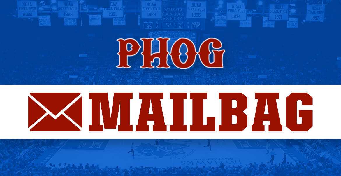 Mailbag: KU's PG spot, basketball prop bets and QB competition