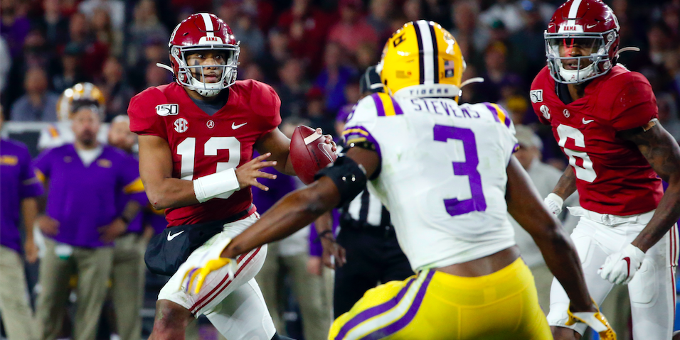 Ranking The Best Odds Of Making The Cfb Playoff