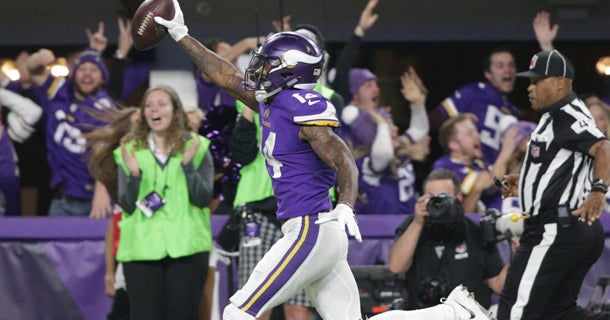 1aed2721 Stefon Diggs pushes for different Vikings jersey combo