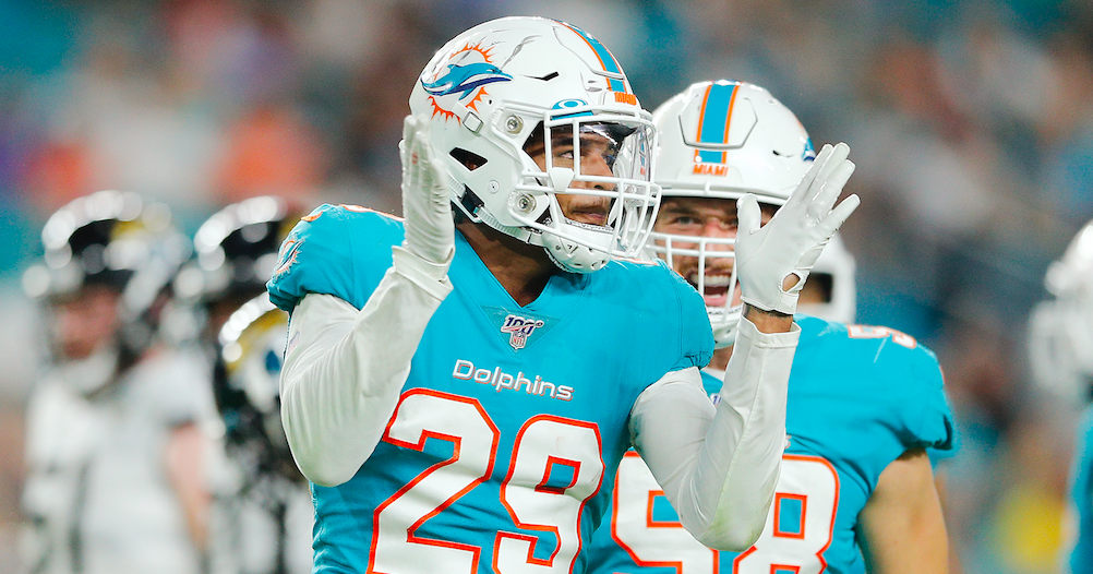 Minkah Fitzpatrick given permission to seek trade from Dolphins