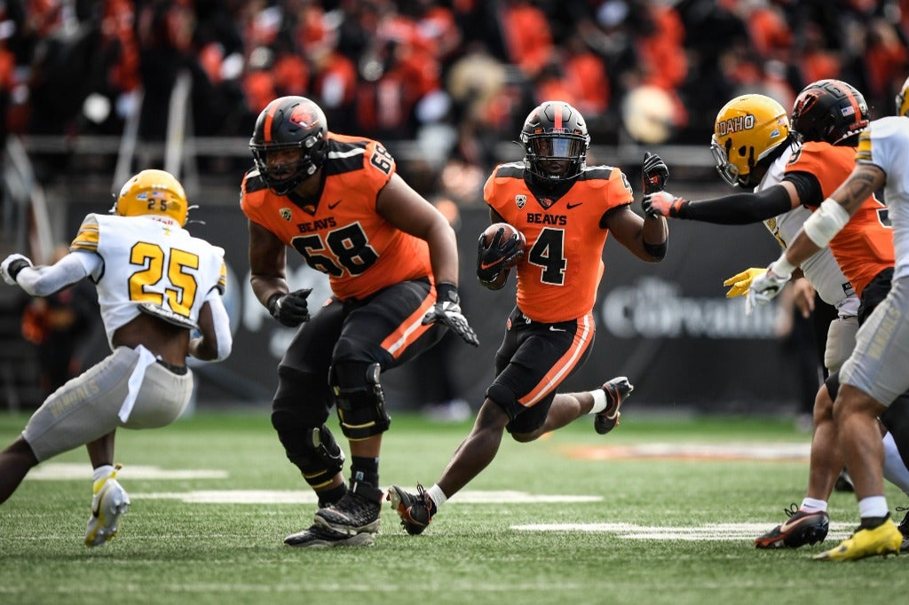 Oregon State re-writes history in shutout win over Idaho