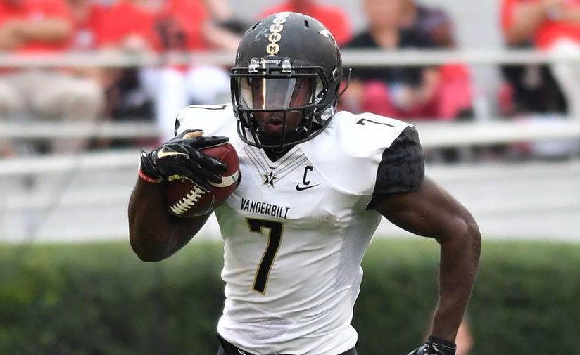 the best attitude cf504 be6c4 Ralph Webb, Vanderbilt, Running Back